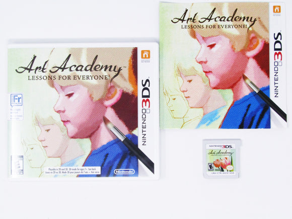 Art Academy: Lessons for Everyone (Nintendo 3DS)