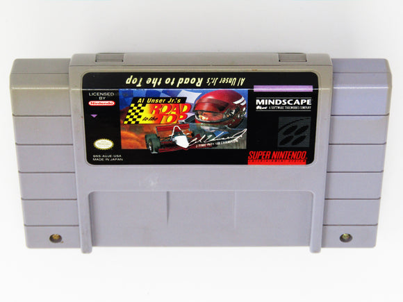 Al Unser Jr.'s Road To The Top  (Super Nintendo / SNES)
