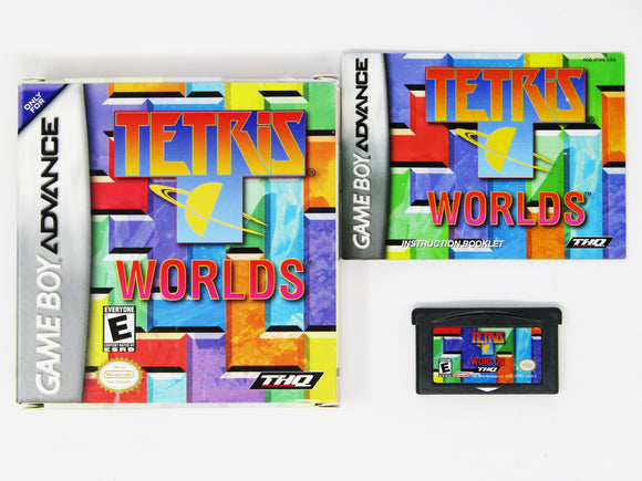 Tetris Worlds (Game Boy Advance / GBA)