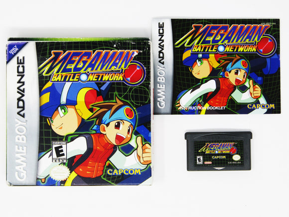 Mega Man Battle Network (Game Boy Advance / GBA)