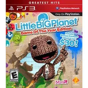 LittleBigPlanet [Game of the Year Greatest Hits] (Playstation 3 / PS3)