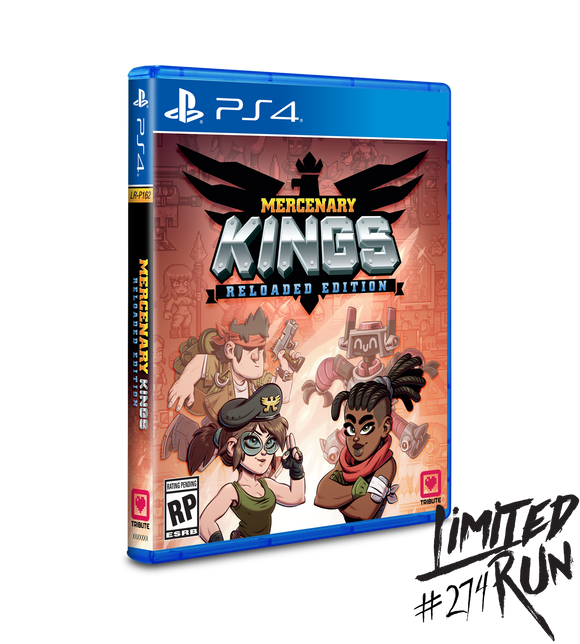 Mercenary Kings: Reloaded Edition (Limited Run) (Playstation 4 PS4)