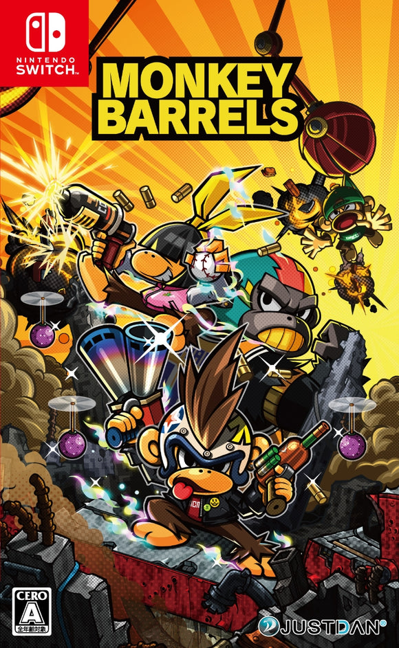 Monkey Barrels (Nintendo Switch)