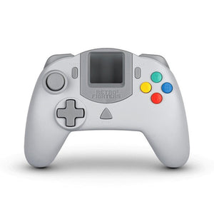 StrikerDC White Dreamcast Controller [Retro Fighters]