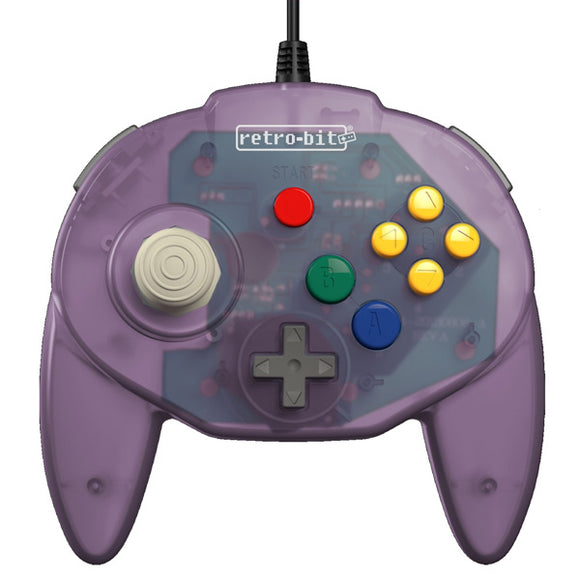 Atomic Purple Tribute 64 N64 Controller [Retro-Bit] (Nintendo 64)