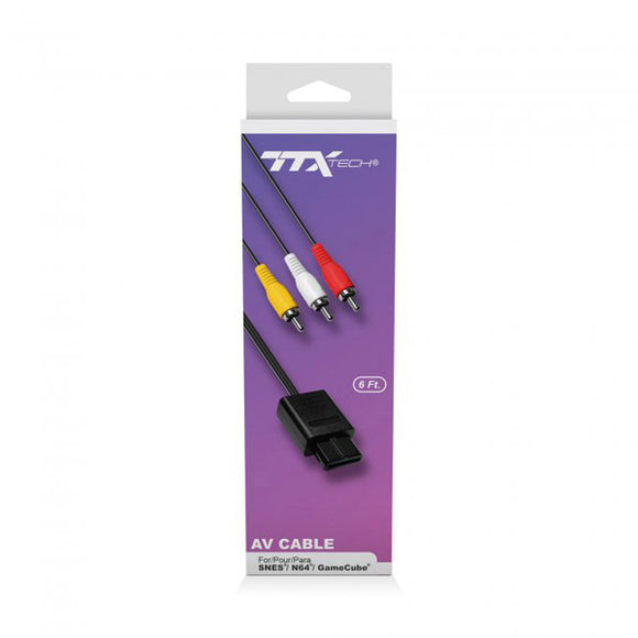 AV Cable [TTX] (SNES, N64, Gamecube)