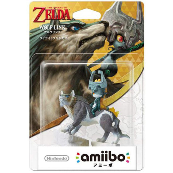 Link - Wolf - Twilight Princess (JP Import) (Amiibo)