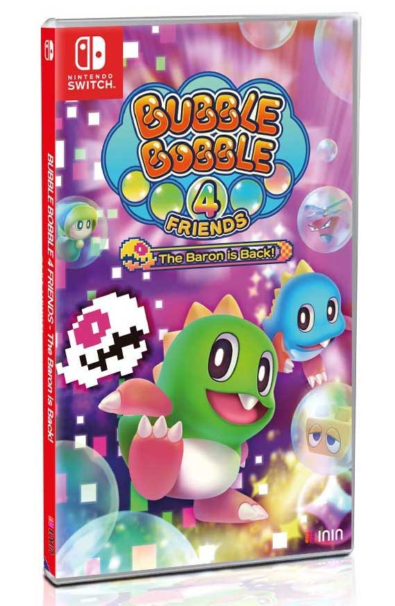 Bubble Bobble 4 Friends The Baron Is Back (Nintendo Switch)