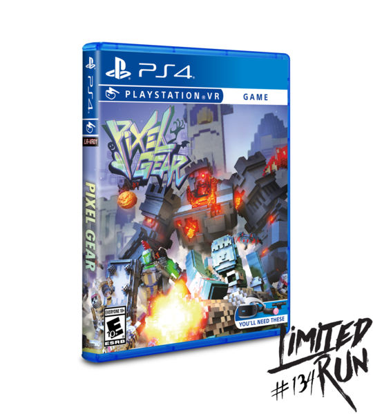 Pixel Gear [Limited Run] (Playstation 4 / PS4)
