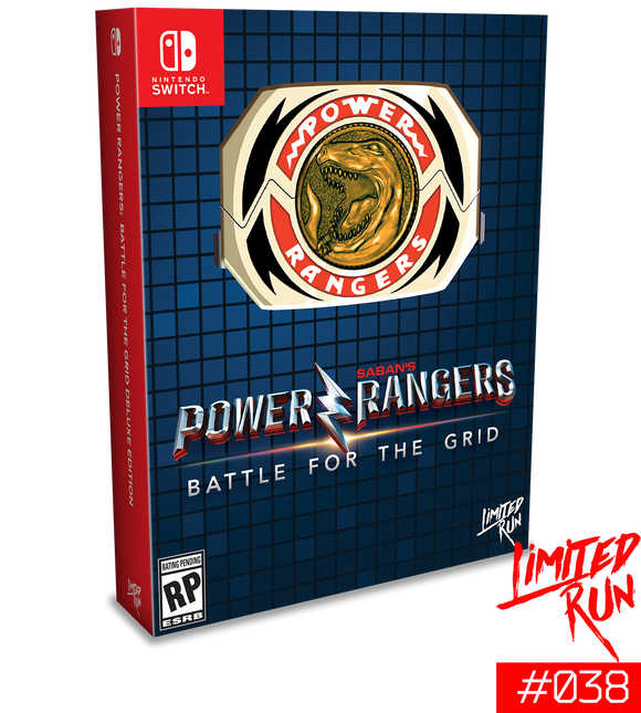 Power Rangers: Battle For The Grid [Mega Edition] [Limited Run] (Nintendo Switch)