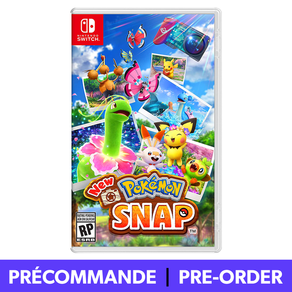 *PRÉCOMMANDE* New Pokemon Snap (Nintendo Switch)