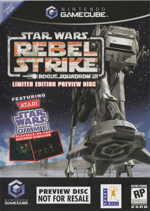 Star Wars Rebel Strike [Preview Disc] (Gamecube)