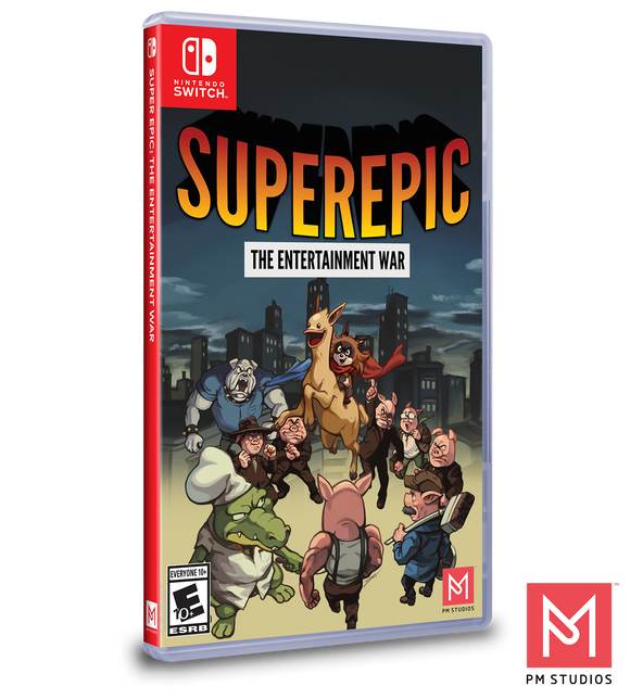 Superepic: The Entertainment War (Limited Run) (Nintendo Switch)