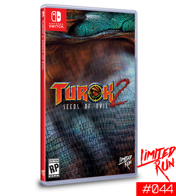 Turok 2 Seeds of Evil (Limited Run) (Nintendo Switch)
