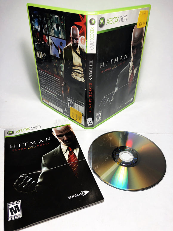 Hitman Blood Money (Xbox 360)