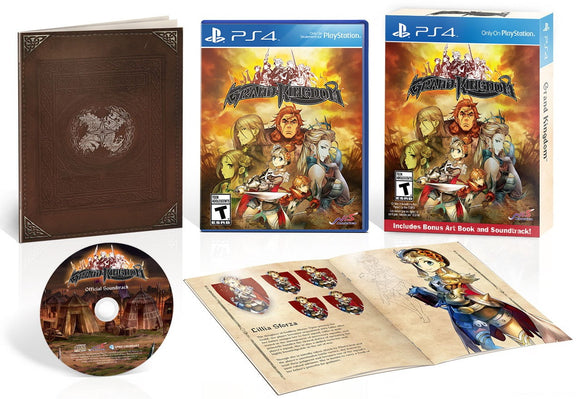 Grand Kingdom [Launch Day Edition] (Playstation 4 / PS4)