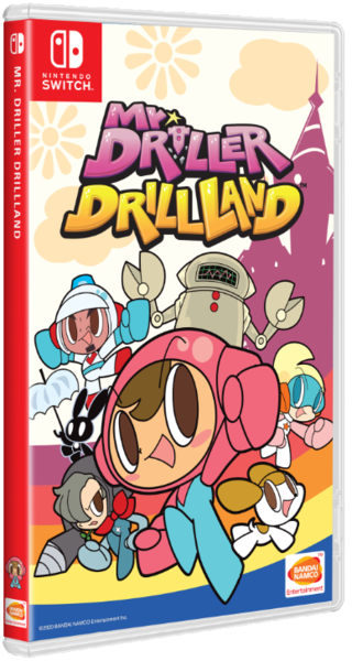 Mr. Driller Drill Land (Nintendo Switch)