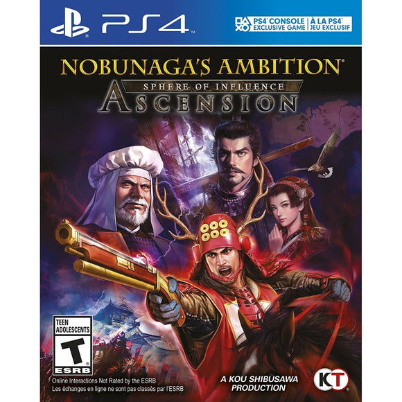 Nobunaga's Ambition Sphere of Influence [Ascension] (Playstation 4 / PS4)