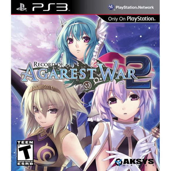 Record of Agarest War 2 (Playstation 3 / PS3)