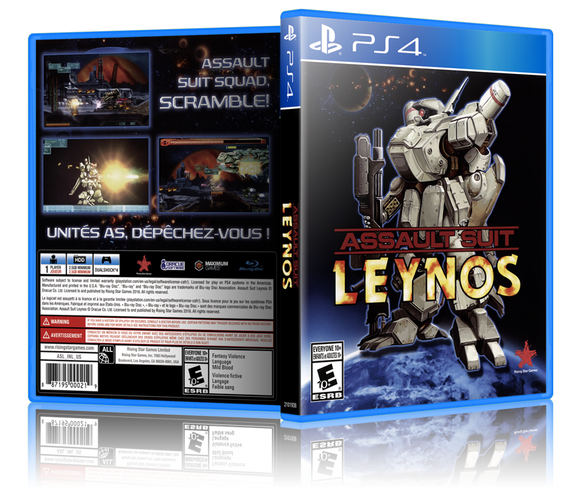 Assault Suit Leynos (Playstation 4 / PS4)