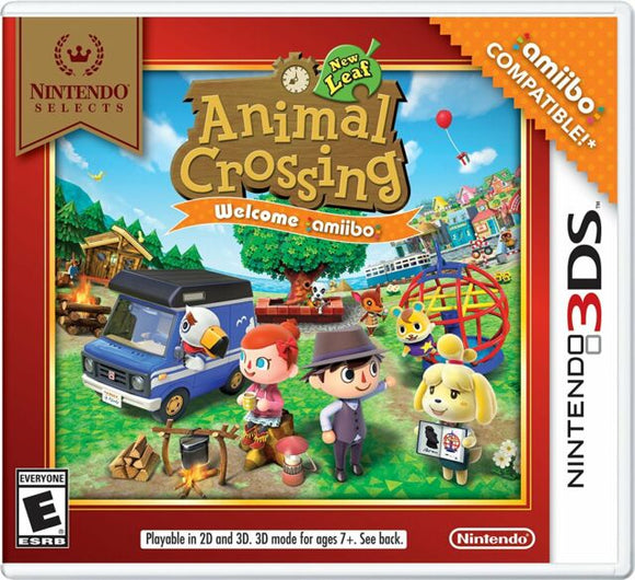 Animal Crossing: New Leaf Welcome Amiibo [Nintendo Selects] (Nintendo 3DS)