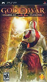 God of War Chains of Olympus (Playstation Portable / PSP)