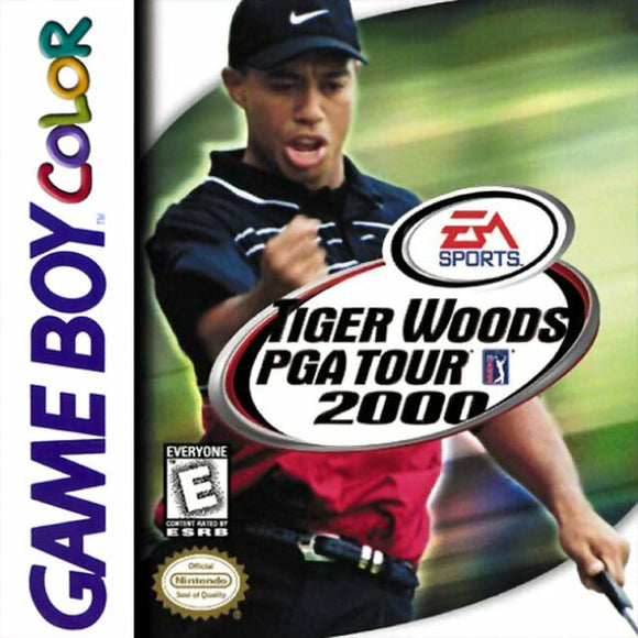 Tiger Woods 2000 (Game Boy Color)
