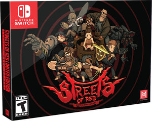 Streets Of Red Collector's Edition [Limited Run] (Nintendo Switch)