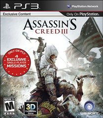 Assassin's Creed III (Playstation 3 / PS3)