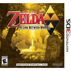 Zelda A Link Between Worlds (Nintendo 3DS)