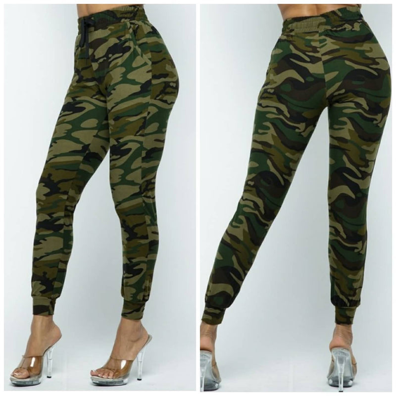 Casual Camo Print Joggers #LOOKEBLEInspired #loungewear...
