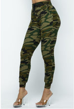 Women's Drawstring Waist Cotton Jogger Pants