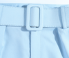 Belted High Waist Pants - Lookeble