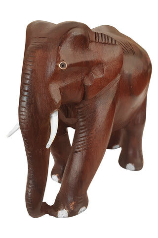 Southloom Handmade Elephant Handicraft (Carved from Rose Wood) 5 Inches
