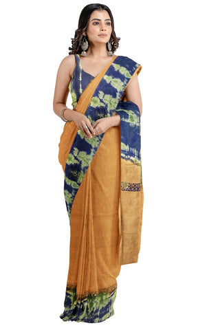Southloom Designer Cotton Saree with Crochet Woven Designs
