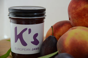 K's European Jams a range of flavors from tart to sweet, bold to bright.