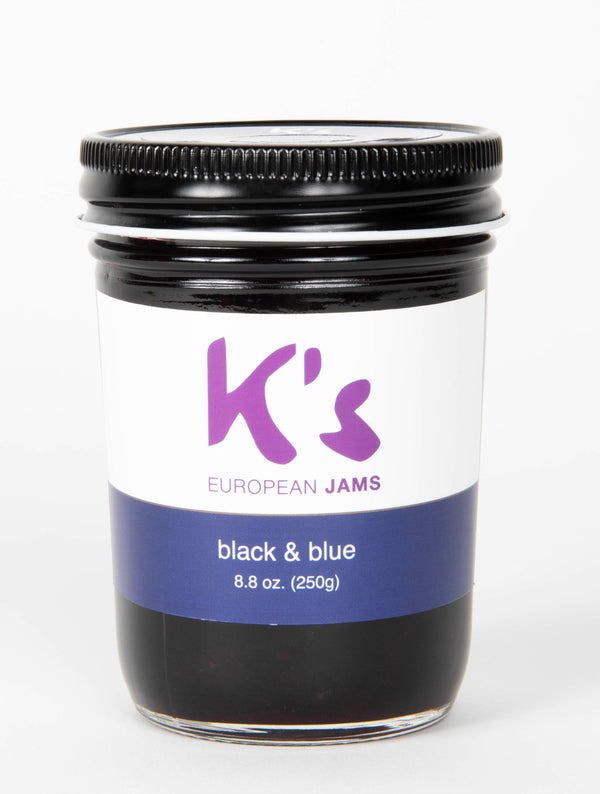 Intense Gourmet Black & Blue Jam, 8 oz.