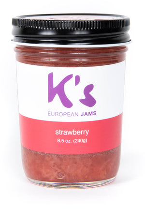 Fruity Gourmet Strawberry Jam, 8 oz.