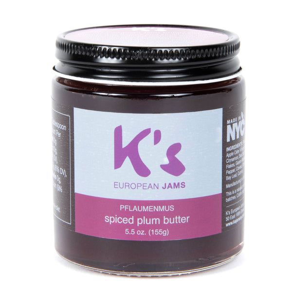 Handmade Preservative-Free PFLAUMENMUS (German Style Spiced Plum Butter), 4 oz..