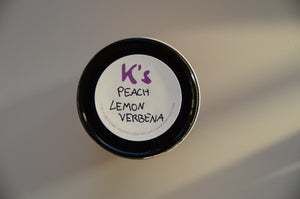 Peach Lemon Verbena 8 oz