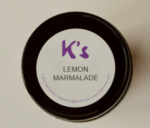 Lemon Marmalade 8 oz