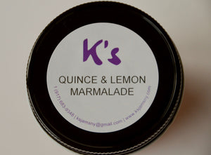 Quince Lemon Marmalade 8 oz