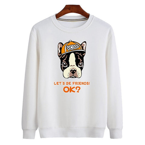 Lets Be Friends Ok? Mens Sweater