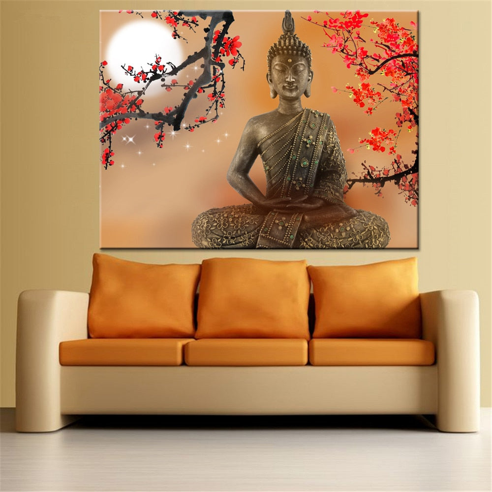 Red Leaf Buddha
