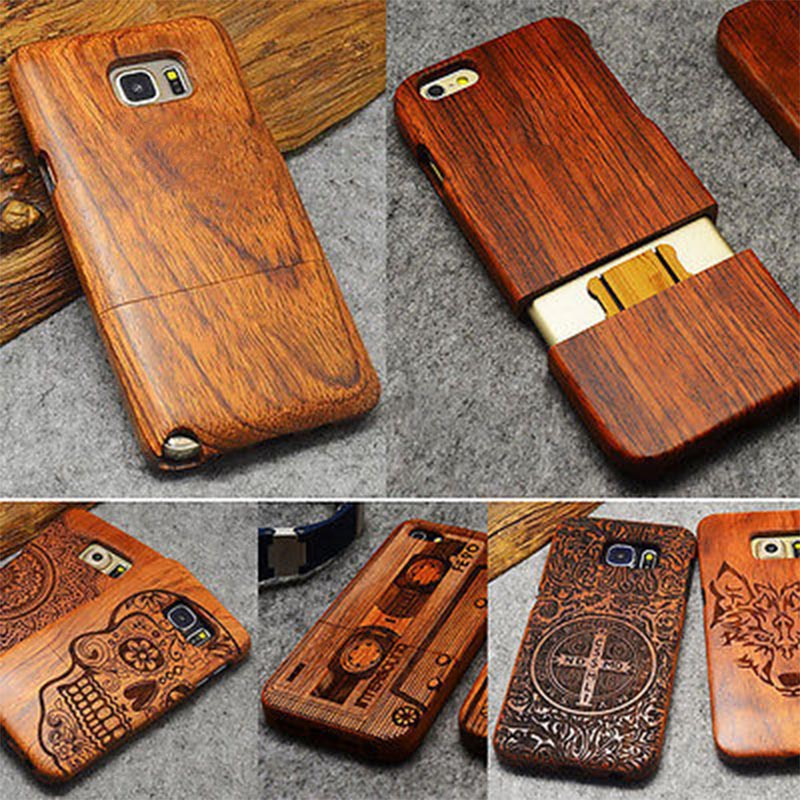 Wood Case For iPhone/Samsung