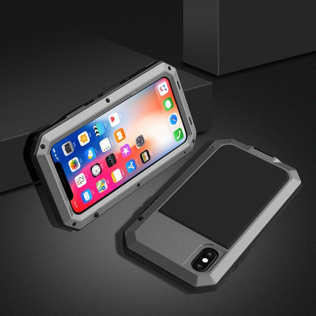 Heavy Duty Metal Case For Samsung/iPhone