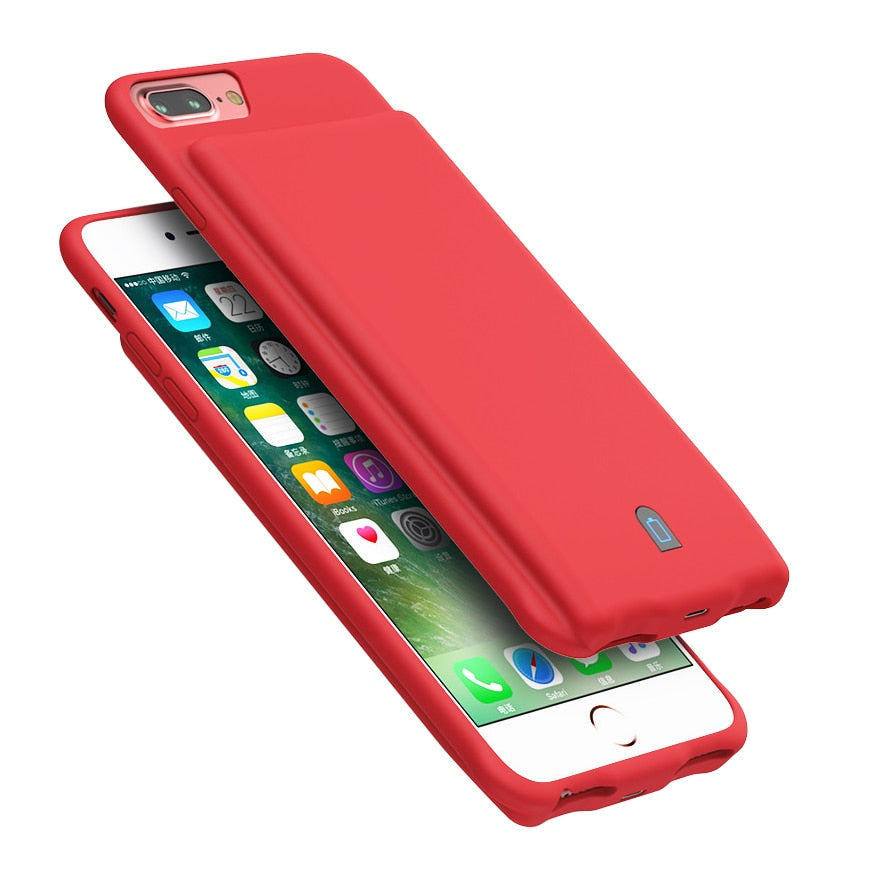 7000mAh Battery Charger Case For iPhone