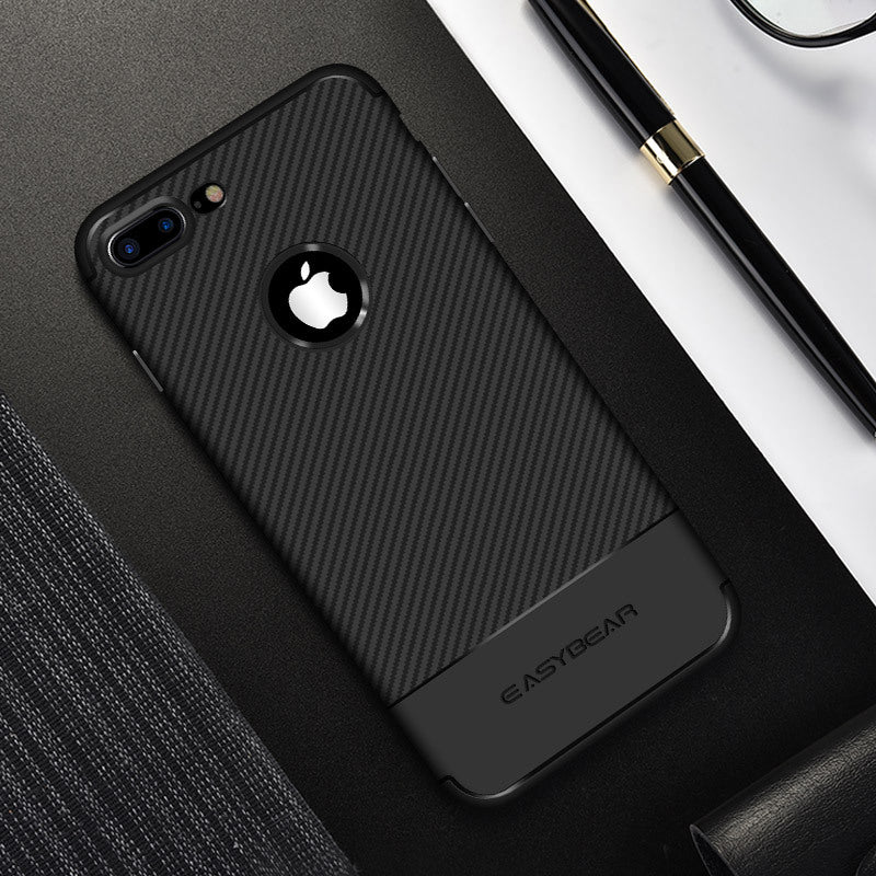 Carbon Fiber Texture Case For iPhone
