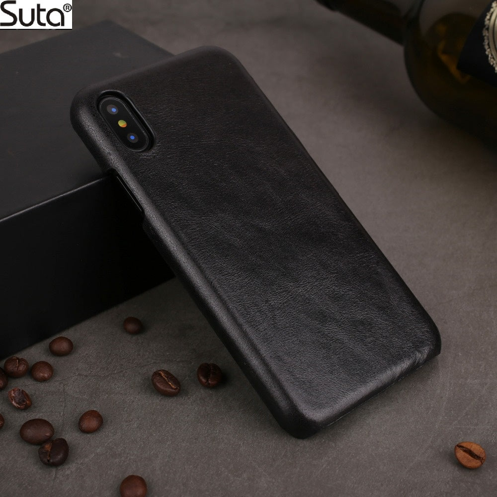Genuine Leather Case For iPhone/Oneplus/Huawei Mate