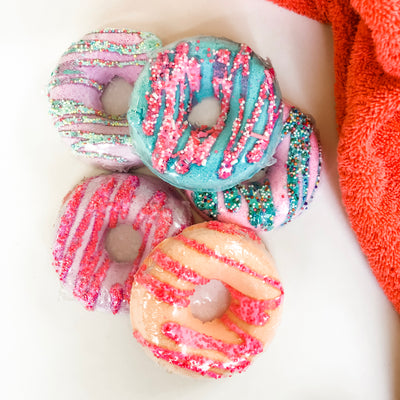 Donut Worry Be Happy - Bath Bombs (2 pack)